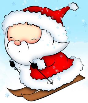 Dessin Kawaii Noël Cadeau